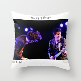 Birds in the Boneyard, Print 20: Mikey & Petey Throw Pillow