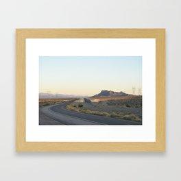 Parallel Lines Framed Art Print