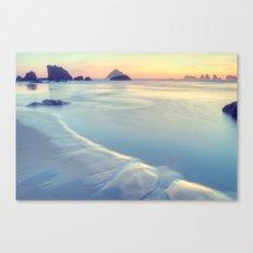 Faded Ocean Canvas Print