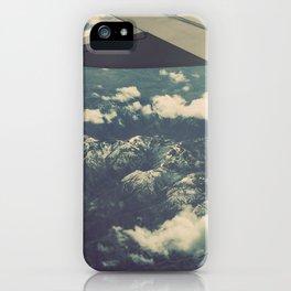 Mountains in Washington, Original Fine Art Photography Nature Home Decor Gift Icon iPhone Case
