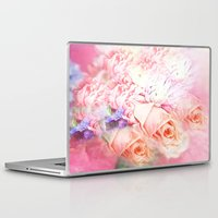 roses Laptop & iPad Skins featuring Roses  by Saundra Myles