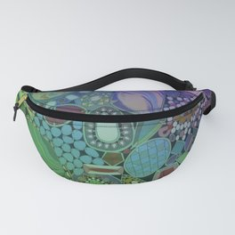 Colorful Patterns Fanny Pack