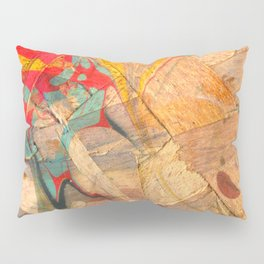 Abstract Painting ; Geyser Pillow Sham