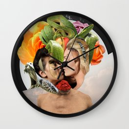 The Passion of New Eve Wall Clock