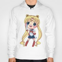 sailormoon Hoodies featuring Sailor Moon Chibi by Hikari Rua