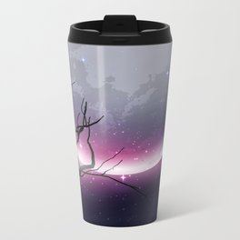 Face of the Moon Metal Travel Mug
