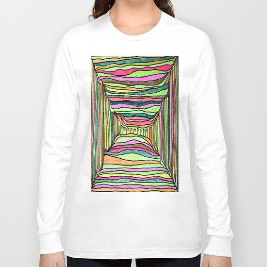 Boxy Bright Long Sleeve T-shirt