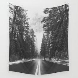 ROAD TRIP IV / Yosemite, California Wall Tapestry