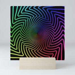 Happy Rainbow Trails Mini Art Print