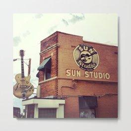 Sun Studio Metal Print