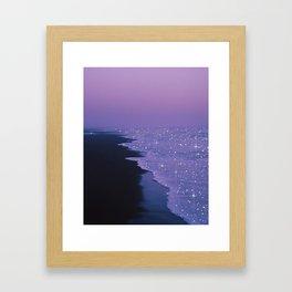 Purple magic Framed Art Print