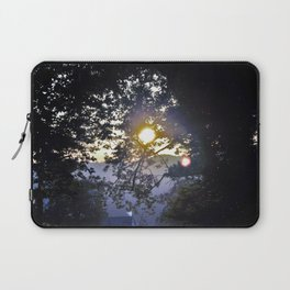 Sun Setting through Banches Laptop Sleeve