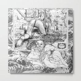 The constellation erotique 2478 Metal Print