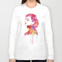 audrey Long Sleeve T-shirts featuring Audrey by Fimbis