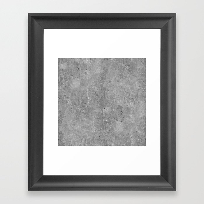 Simply Concrete II Gerahmter Kunstdruck