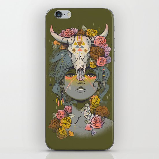Desert Rose iPhone & iPod Skin