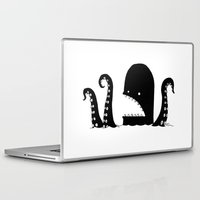 kraken Laptop & iPad Skins featuring Kraken Attackin' by Keith Noordzy