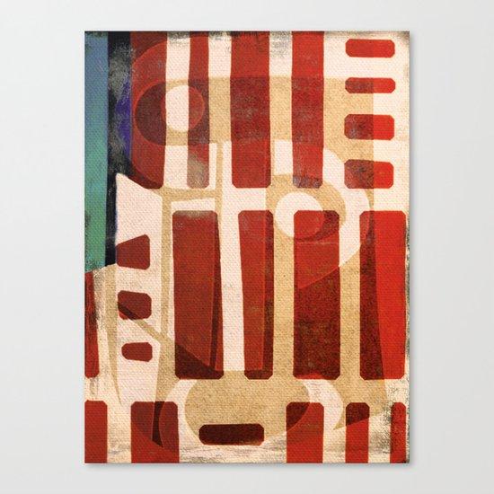 The Wise Babuino Canvas Print