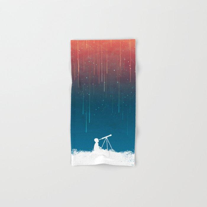 Meteor Rain (light version) Hand & Bath Towel