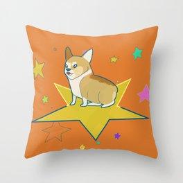 Big Star Throw Pillow