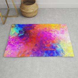 Colorful Splatter Rug