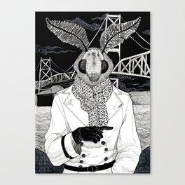 The Cryptids - Mothman Canvas Print