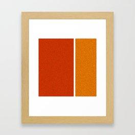 Minimalist wall Framed Art Print