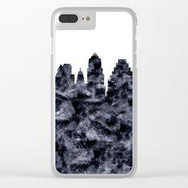 Austin Skyline Texas Clear iPhone Case
