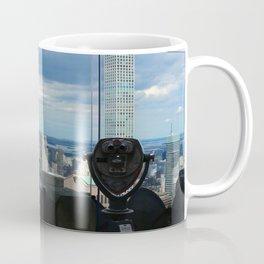 Top of the Rock View over Manhattan Coffee Mug