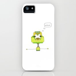 Robot: Just Like You iPhone Case