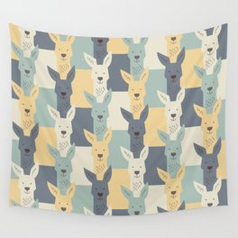 Kangaroos Wall Tapestry