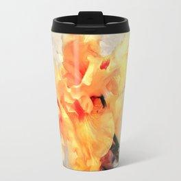 Yellow Iris I Travel Mug