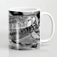 monty python Mugs featuring Hissing Sid - python - mono by PICSL8