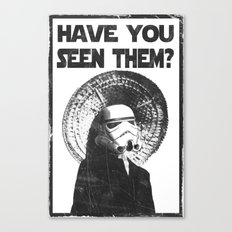 The Bucket Brigade: Search for Imperial Chin Canvas Print