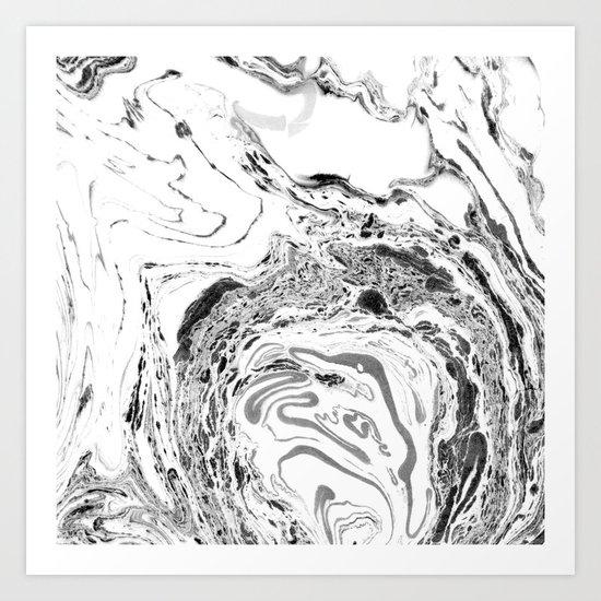 marble II #texture Art Print
