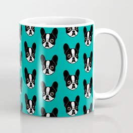 Double Hooded Pied French Bulldog Puppy Coffee Mug