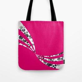 Dancing Stripes Tote Bag