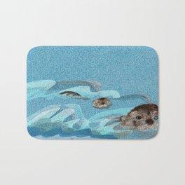 Swiming Otters (c) 2017 Bath Mat