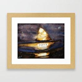 Bright Dark Framed Art Print