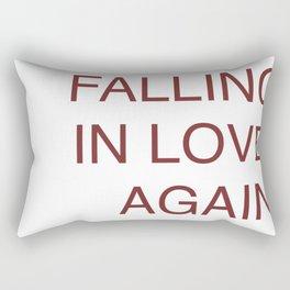 falling in love again (joyce manor) Rectangular Pillow
