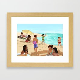 Heirs to the Crown - Summer Special 2017 Framed Art Print