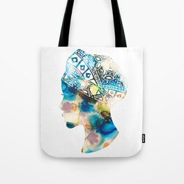 Tribal Lady Tote Bag