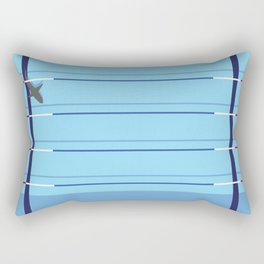 pool shark Rectangular Pillow