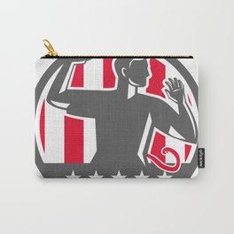 Flag football qb play Carry-All Pouch