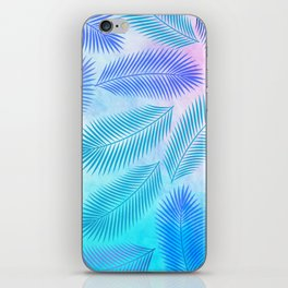 Feathers on Watercolor Background iPhone Skin