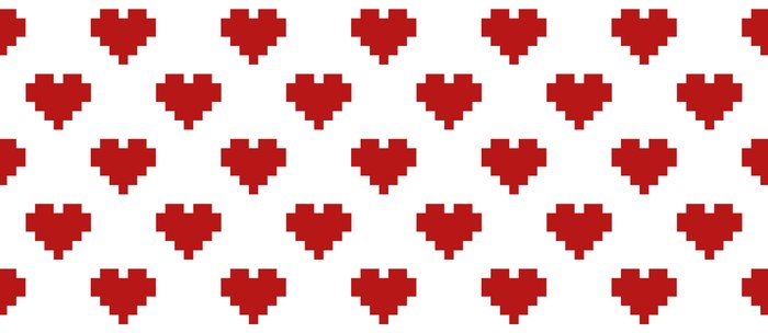 Love Pattern Coffee Mug