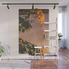 Flores Amarillas Wall Mural