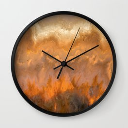Idaho Gem Stone 7 Wall Clock