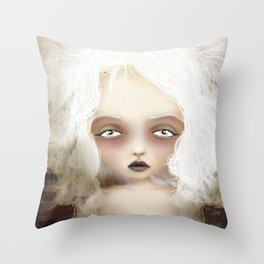 Mania Throw Pillow