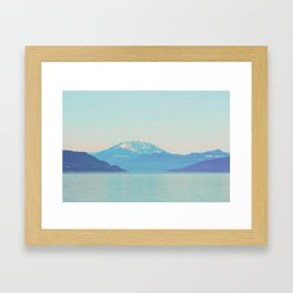 Narrow passage Framed Art Print